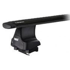 Thule WingBar Black для автомобилей с гладкой крышей