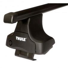 Thule squarebar для автомобилей с гладкой крышей