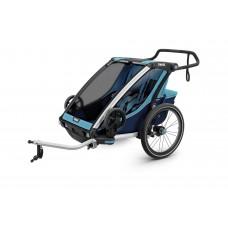 Мультиспортивный велосипедный прицеп Thule Chariot Cross 2 (Blue/Poseidon)