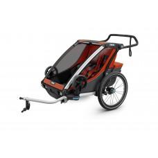 Мультиспортивный велосипедный прицеп Thule Chariot Cross 2 (Roarange/Dark Shadow )