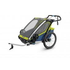 Мультиспортивный велосипедный прицеп Thule Chariot Sport 2 (Chartreuse/Mykonos)
